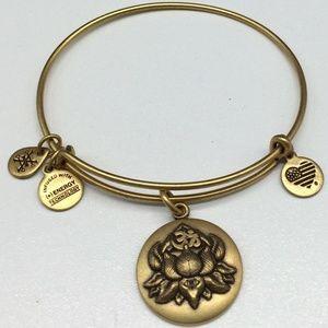 Alex & Ani Lotus Peace Petals Charm Bracelet